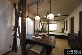 日式风格家装设计餐厅