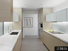 简约厨房橱柜设计效果图