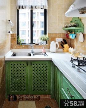 优质开放式厨房装修效果图片欣赏