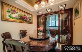 端庄古典中式餐厅设计