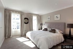 欧式主卧室装修效果图大全2013图片 卧室窗帘图片