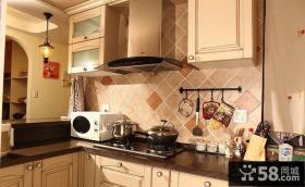 小户型美式厨房装修效果图大全2014图片