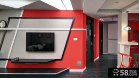 创意家居客厅电视背景墙效果图片欣赏
