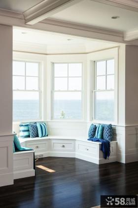 现代时尚设计阳台飘窗图片
