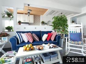 地中海风格别墅客厅设计装修图片