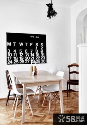 时尚北欧风格餐厅设计装饰