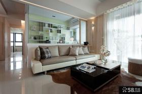 现代设计两居室欣赏
