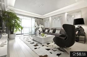 客厅沙发茶几装修效果图片大全