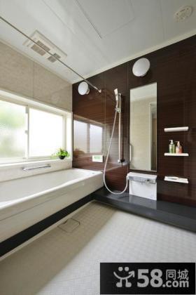 简约风格卫生间装修设计图欣赏