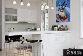 100平复式楼厨房装修效果图