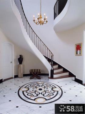 别墅地面装修图