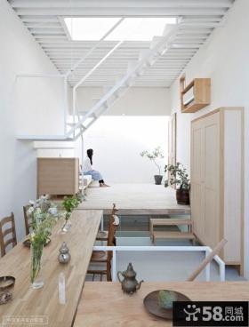 现代风格复式客厅样板间装修