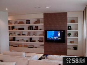 简约时尚设计电视背景墙图