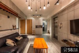 美式风格客厅吊顶装修