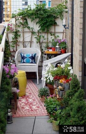 4平米小阳台设计装饰