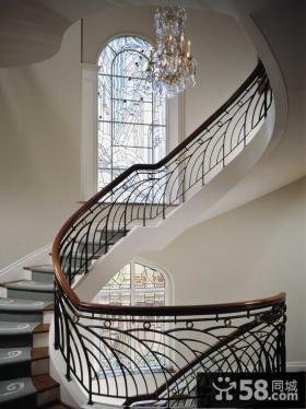 别墅楼梯设计效果图大全图片