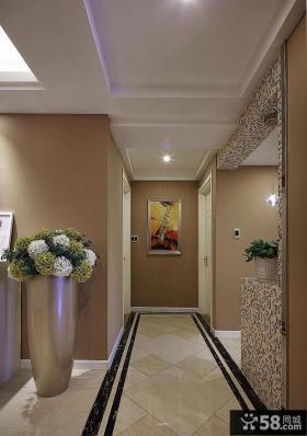 欧式走廊吊顶图片欣赏