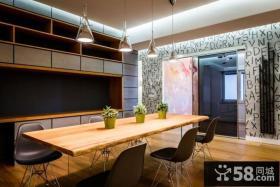 意大利现代时尚住宅餐厅设计