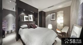 后现代风格别墅室内卧室效果图