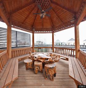 洋房别墅阳台装修设计