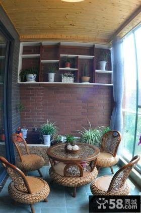 3平米休闲阳台装修效果图