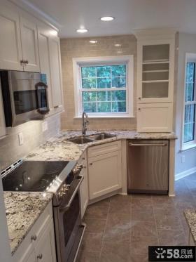 简欧风格厨房装修设计图片