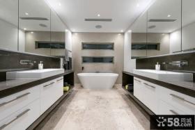 现代风格浴室效果图