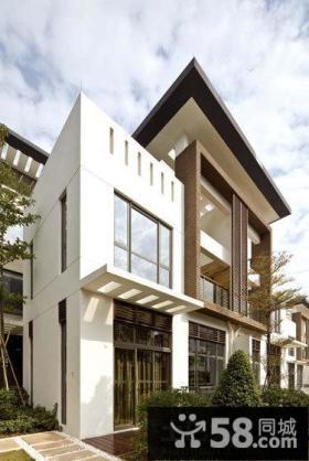 现代别墅外观设计