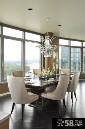 餐厅吊顶装修效果图现代风格