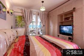 地中海简约风格卧室装修效果图片