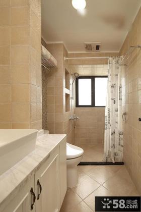 简约美式卫生间装潢设计