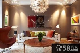23万打造欧式元素的后现代装修风格图片客厅图片