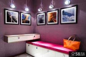 现代玄关装饰画效果图片欣赏