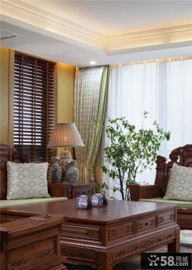 中式现代别墅室内设计效果图