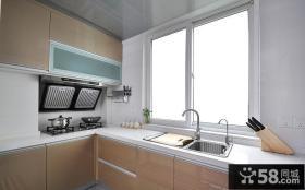 现代简约风格设计厨房效果图