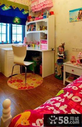 混搭色彩女儿童房装修效果图