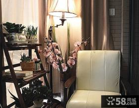 美式风格设计室内阳台图片