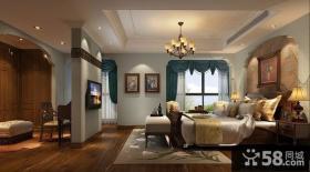 欧式卧室隔断装修效果图大全2013图片