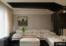 简约家居风格装修客厅设计图片2014