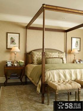 卧室床头欧式台灯图片欣赏