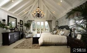 别墅卧室吊顶装修效果图图片