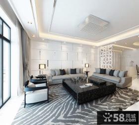 2013家装客厅吊顶装修效果图大全
