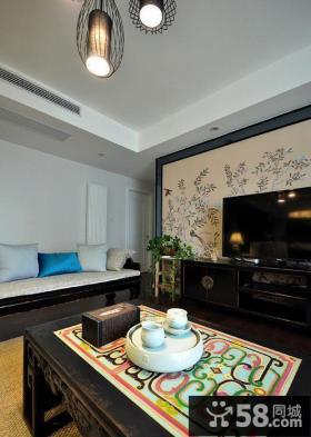古典中式风格客厅设计效果图片