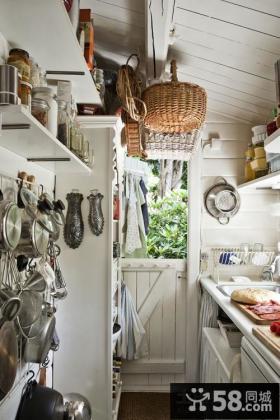 北欧风情50平米小户型厨房装修效果图大全2012图片