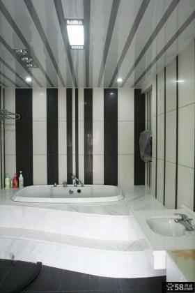 现代复式卫生间图片欣赏