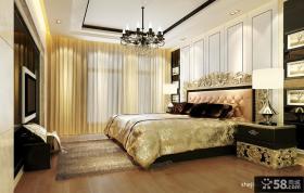 美式装修风格主卧室图片