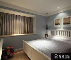 现代小卧室装修效果图片大全
