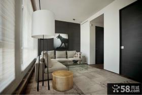 现代风格客厅进门玄关设计效果图