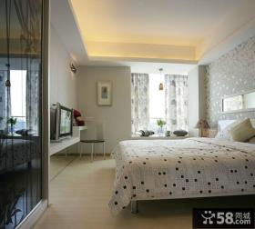 现代卧室简约室内装修设计图片