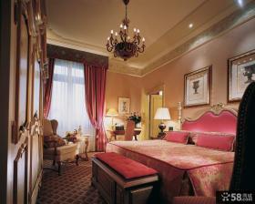 卧室欧式复古风格装修效果图